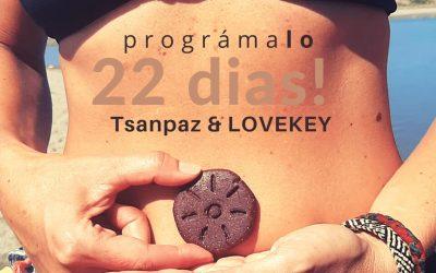 🚩 Programa 22 Días con Tsanpaz & LOVEKEY